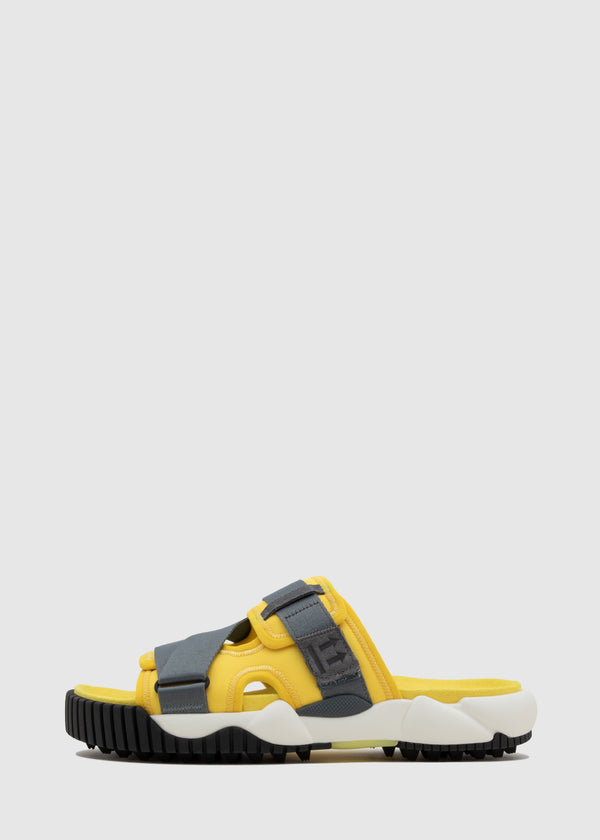 OFF-WHITE: ODDSY STRAP SLIDERS [YELLOW]