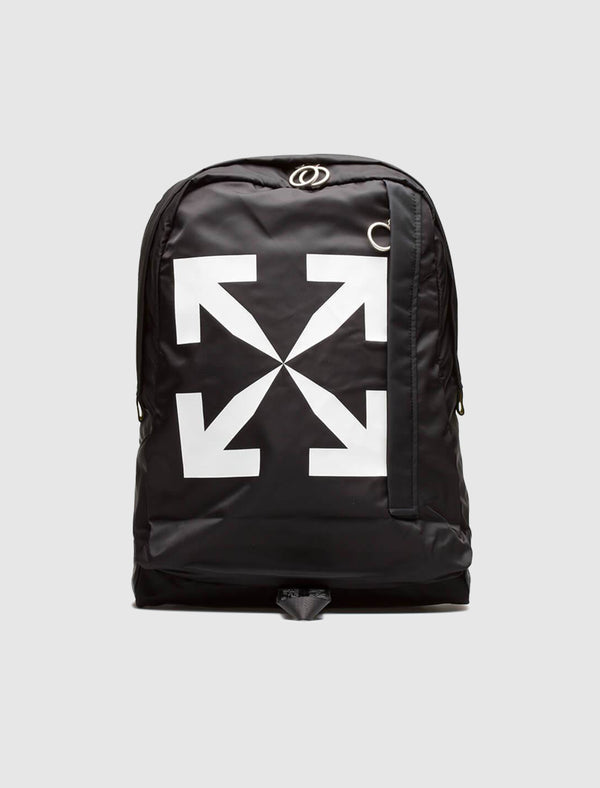 OFF-WHITE: ARROW BACKPACK [BLACK]
