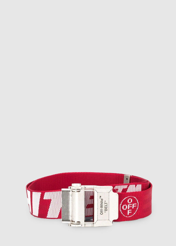 OFF-WHITE: INDUSTRIAL BELT [RED]