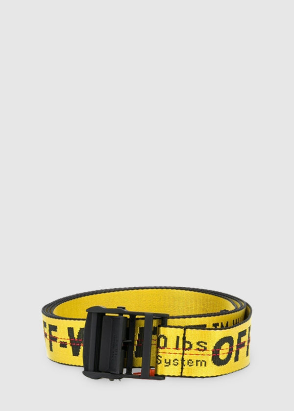 OFF-WHITE: INDUSTRIAL BELT [YELLOW]
