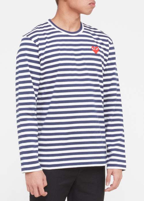 PLAY STRIPED SHIRT