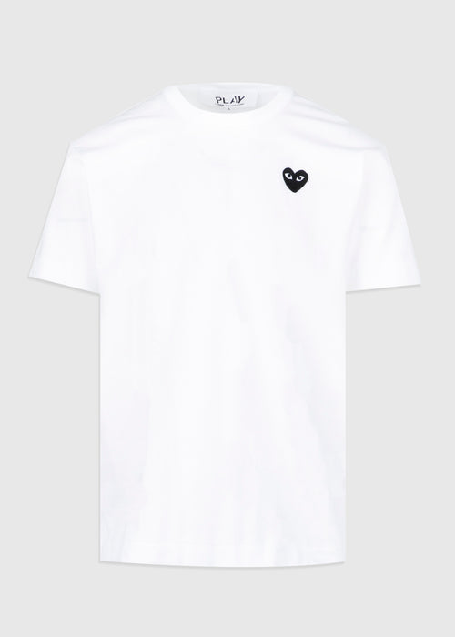 BLACK HEART SHORT SLEEVE TEE