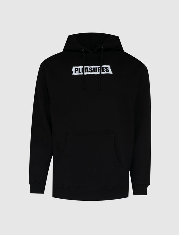 PLEASURES: YOU CAN'T HURT ME HOODIE [BLACK]