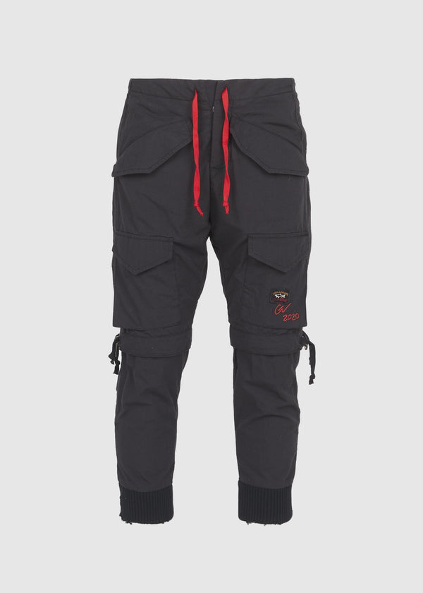 PAUL & SHARK X GREG LAUREN: SHARK DOUBLE PANT [BLACK]
