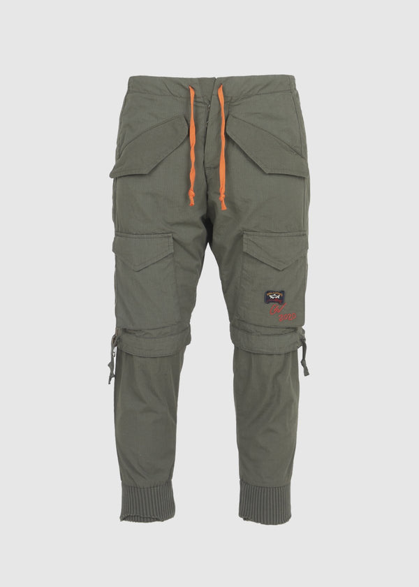 PAUL & SHARK X GREG LAUREN: DOUBLE PANT [GREEN]