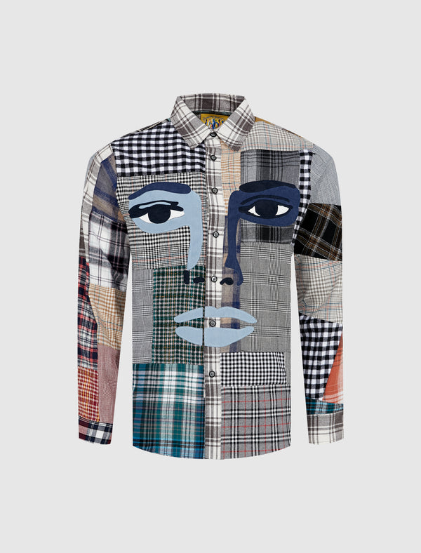 PATTERN FACE SHIRT