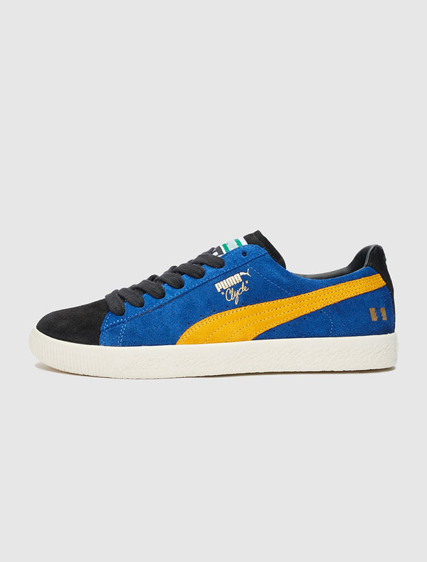 PUMA X THE HUNDREDS: CLYDE X HUNDREDS [BLUE/YELLOW]