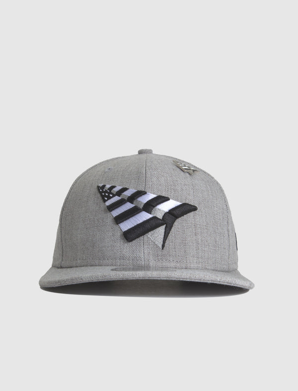 GREY BOY CROWN OLD SCHOOL SNAPBACK