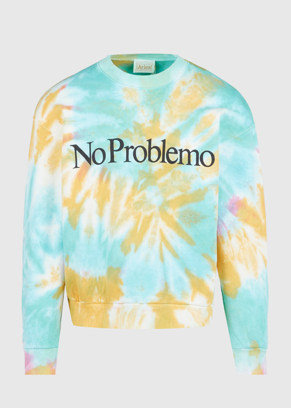ARIES NO PROBLEMO TIE DYE SWEATER [MULTI]