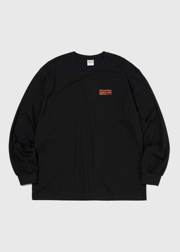 THISISNEVERTHAT: GRAPHIC LS TEE [BLACK]