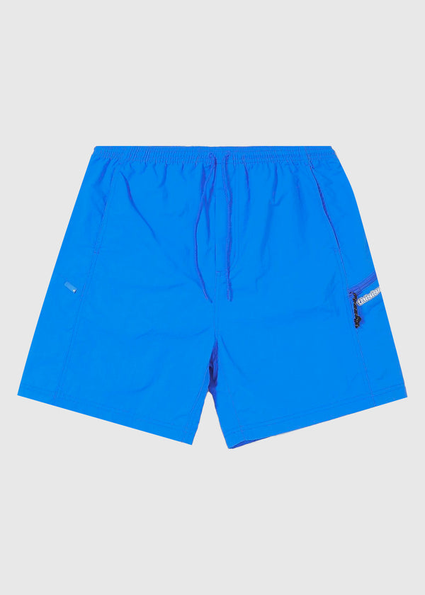 THISISNEVERTHAT: ZIP JOGGING SHORT [BLUE]