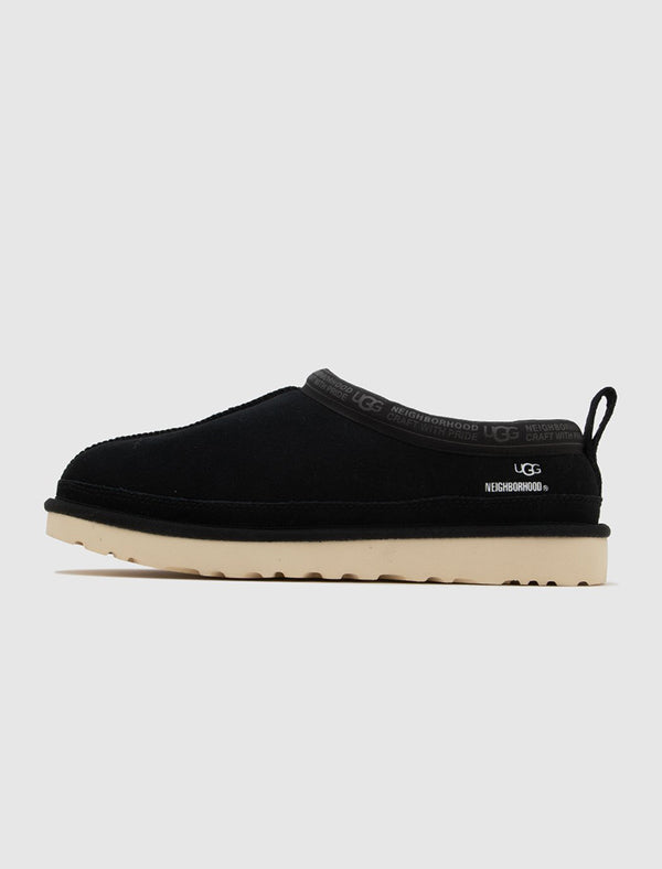 NEIGHBORHOOD X UGG: TASMAN SLIPPER [BLACK]