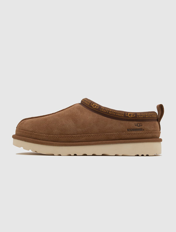 NEIGHBORHOOD X UGG: TASMAN SLIPPER [CHESTNUT]