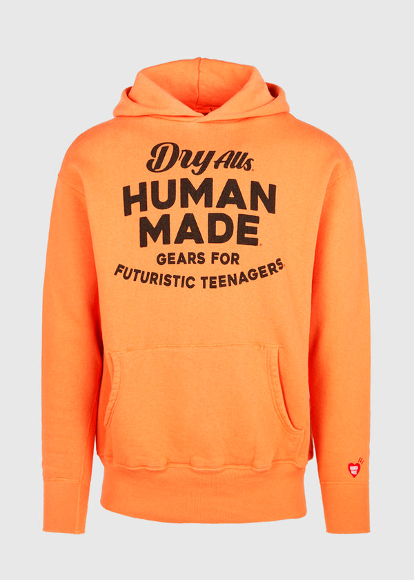 HUMAN MADE: HOODIE [ORANGE]