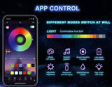 RGB LED Smart Interior Lighting (IOS+ANDROID)