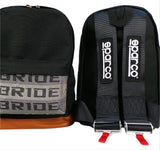 JDM Racing Backpack (BRIDE/SPARCO)