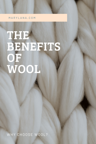 Why Wool? - An ancient fabric for modern-day solutions.