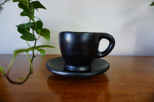 Taza - Cafe with Saucer