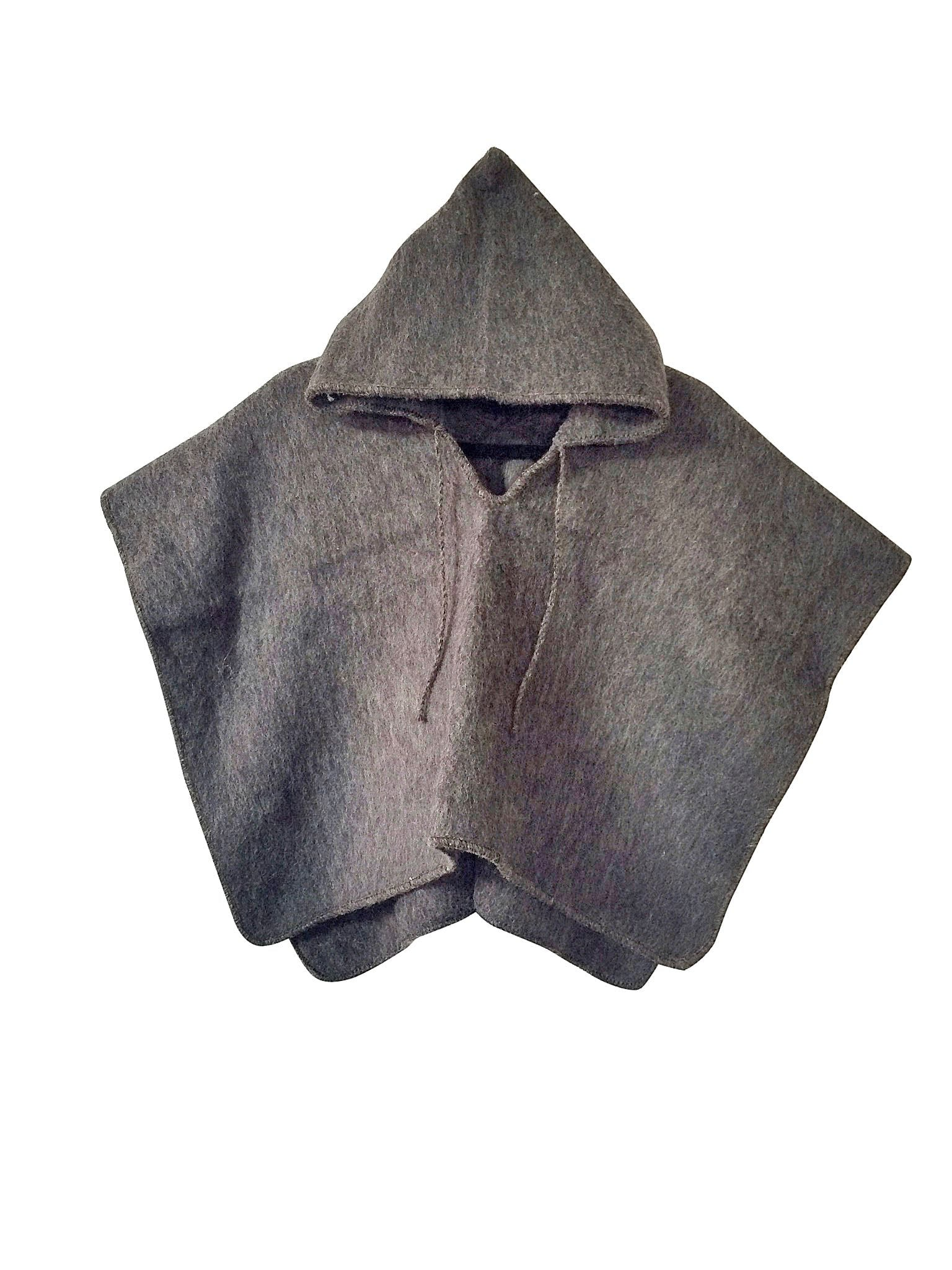 Carbon Pullover Poncho