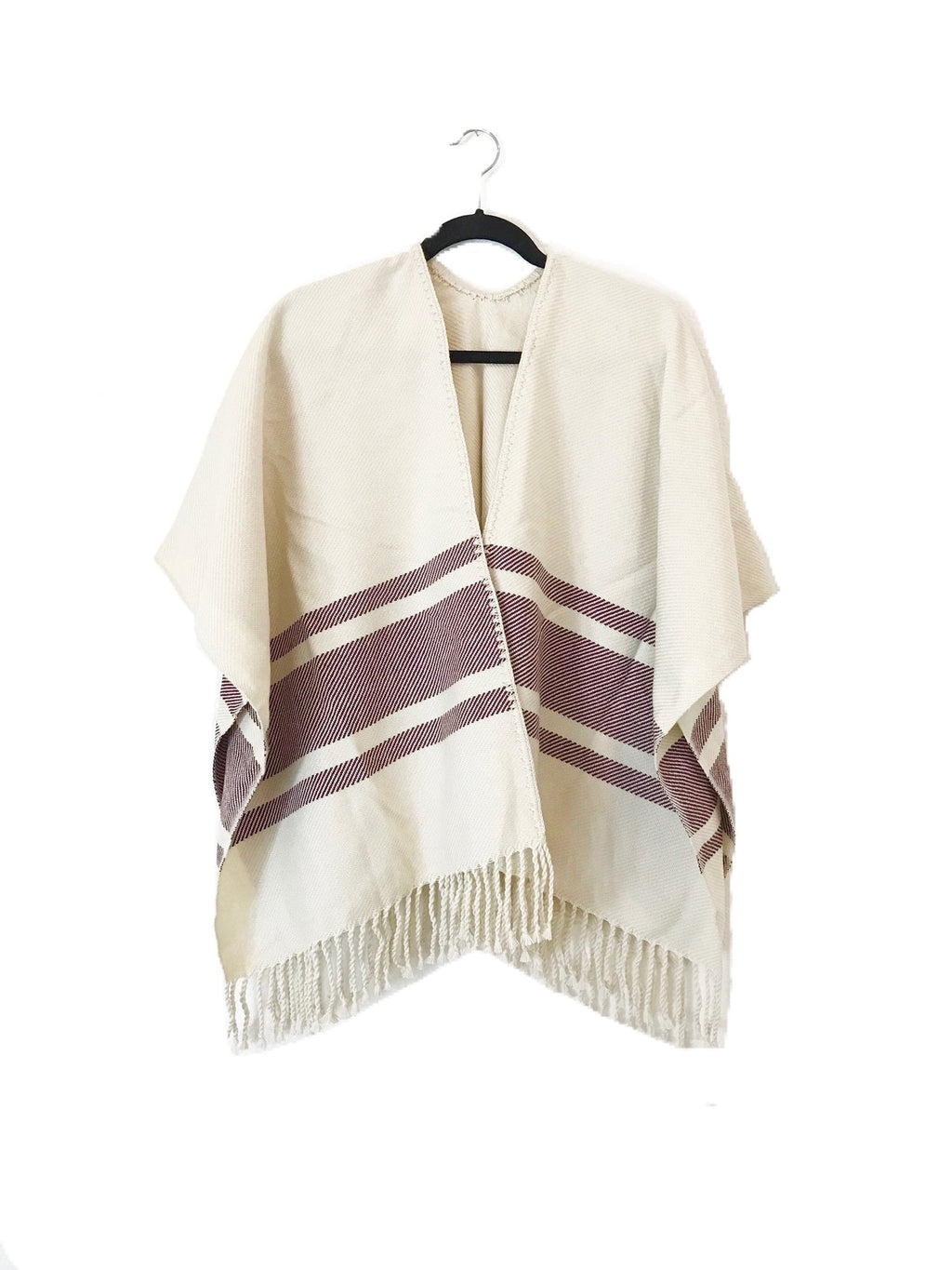 Sangre Open Front Poncho