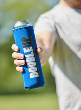 Load image into Gallery viewer, Blue Doubleup - Double Can Cooler – The Can Cooler That Holds Two Cans