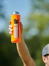 Load image into Gallery viewer, Orange Doubleup - Double Can Cooler – The Can Cooler That Holds Two Cans
