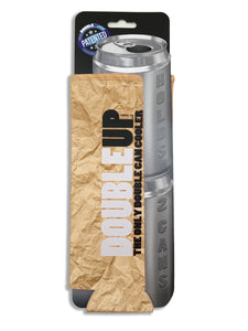 Brown Bag Doubleup - Double Can Cooler – The Can Cooler That Holds Two Cans