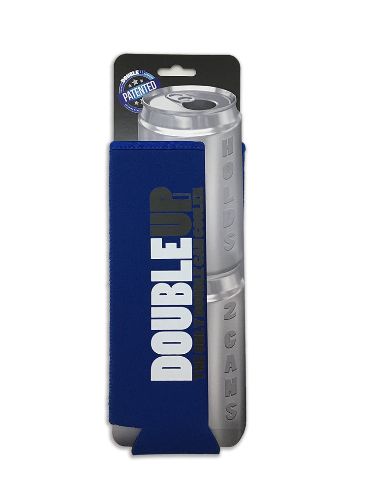 Blue Doubleup - Double Can Cooler – The Can Cooler That Holds Two Cans