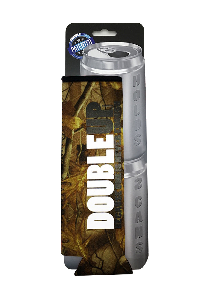 Camo Doubleup - Double Can Cooler – The Can Cooler That Holds Two Cans