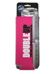 Pink Doubleup - Double Can Cooler – The Can Cooler That Holds Two Cans