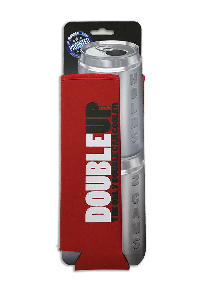 Red Doubleup - Double Can Cooler – The Can Cooler That Holds Two Cans