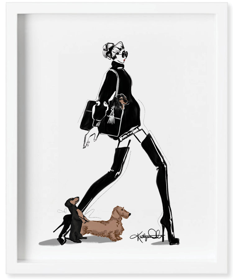 Dachshunds and Dior