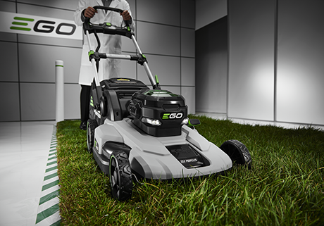 "Power+ 21"" Self-Propelled Lawn Mower"