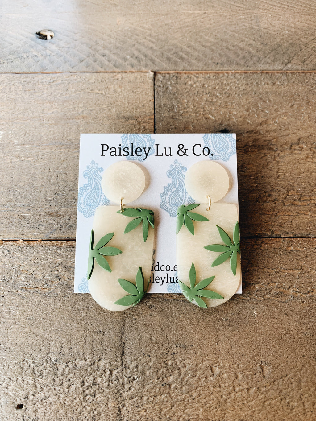 Hempie Earrings by Paisley Lu & Co.