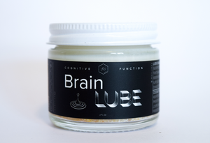Brain Lube- Lion's Mane Coconut Oil