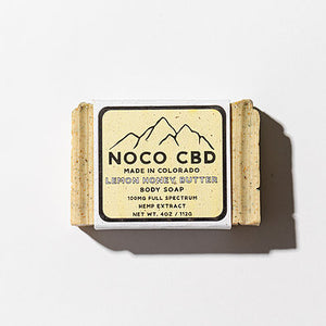 Lemon Honey Butter CBD Soap