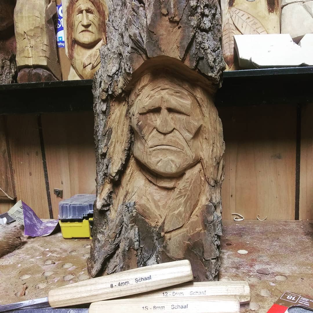 Wood Spirits and more with Tim Collins, The Carving Artist - Community Spotlight | Schaaf Tools