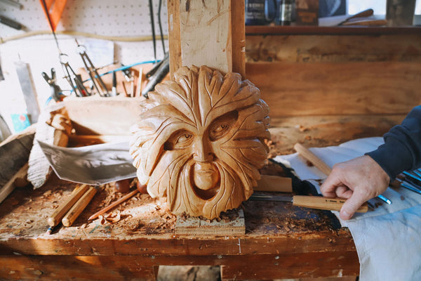 relief carving beginners hobby with schaaf tools