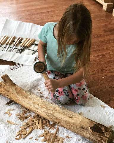 wood carving easy to learn with Schaaf Tools
