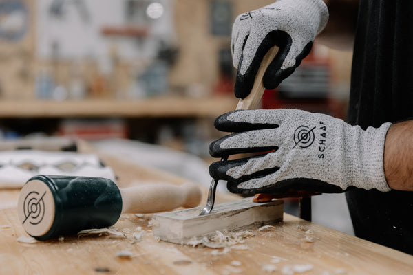 carving a spoon with schaaf tools spoon gouge