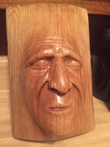 butternut woodcarving by Nate Elarton