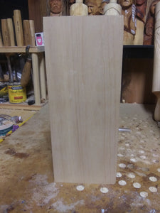 Large Basswood for Wood carving