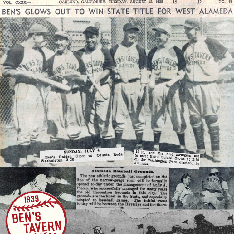 Ben's Tavern State Champs Baseball Team
