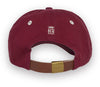 Alameda Anchor A Baseball Cap - Back Maroon