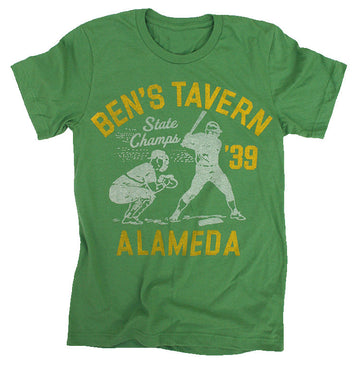 Ben's Tavern Baseball T-Shirt