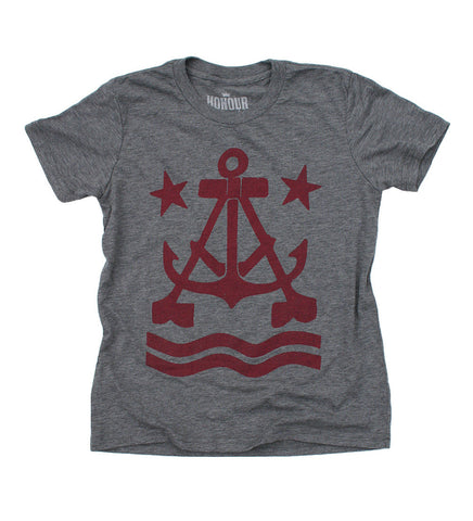 Anchor A Kid's T-Shirt