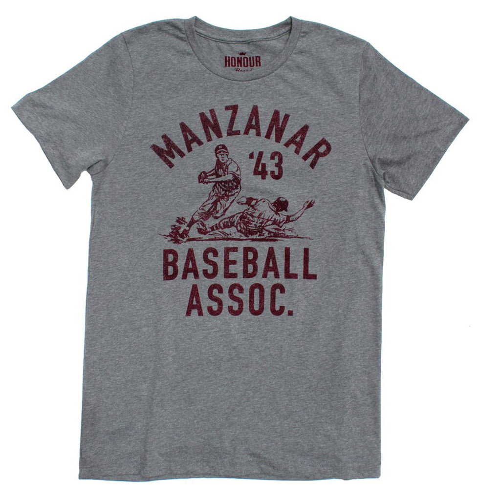 Manzanar Baseball Association T-Shirt