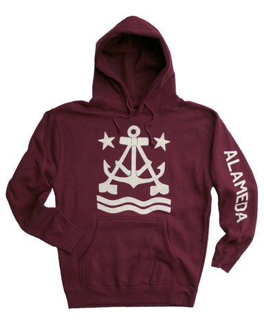 Anchor A Pullover Hoodie