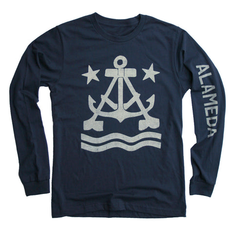 Anchor A Long Sleeve T-Shirt