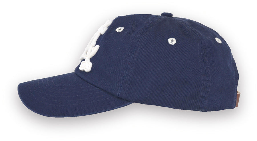 Alameda Anchor A Baseball Cap - Side Navy